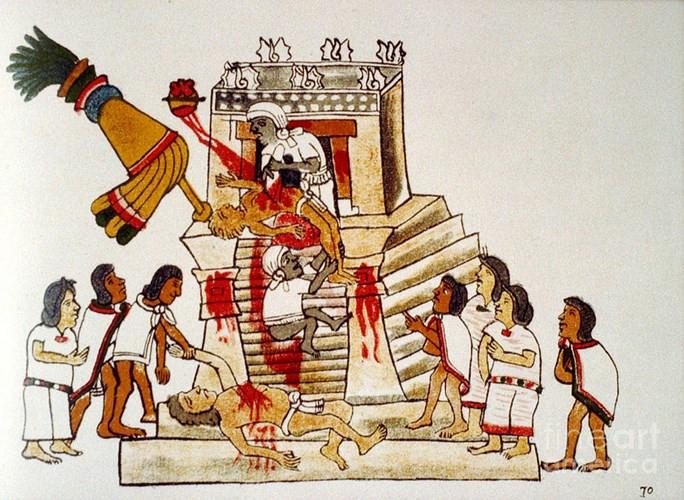 Người Aztec có nghi lễ hiến tế dã man, rùng rợn nhất lịch sử.