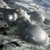Châu Âu muốn xây cả một ngôi làng trên Mặt trăng