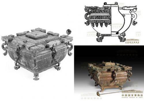 Đồng thùng nước đá, tủ đông cổ đại.