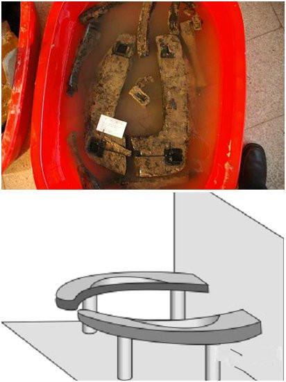 Nhà vệ sinh cổ từ thời nhà Chu (896-951).