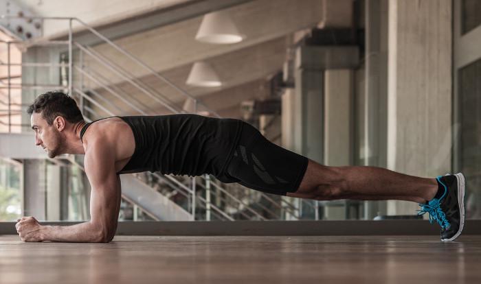 Plank rất dễ thực hiện mà hiệu quả thì cực cao.