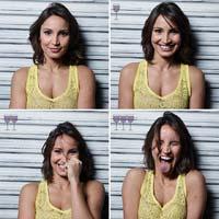 [Ảnh] Sự thay đổi của sắc thái biểu cảm trên khuôn mặt sau khi uống 1, 2 và 3 ly rượu