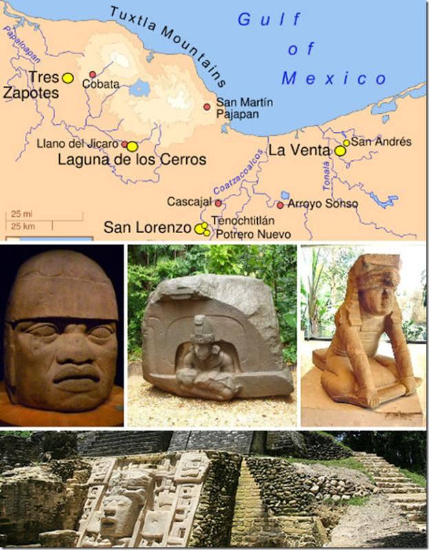 Nền văn minh Olmec, Mexico