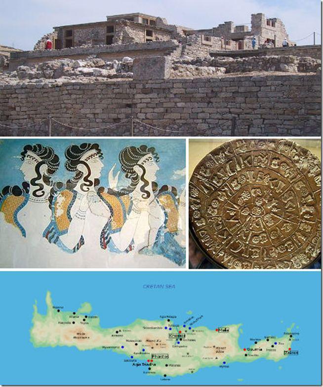 Nền văn minh Minoans, đảo Crete