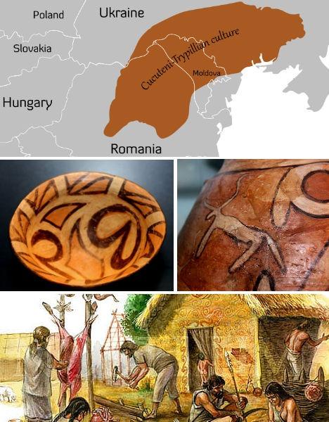 Nền văn minh Cucuteni - Trypillian, Ukraine & Romania