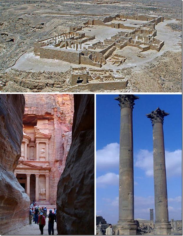Nền văn minh của người Nabatean, Jordan