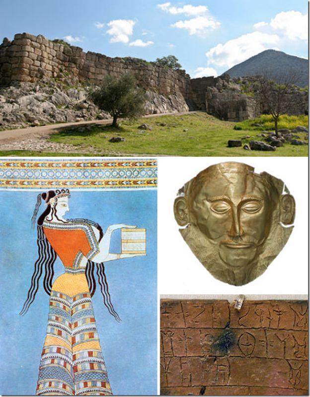 Nền văn minh Mycenae, Hy Lạp
