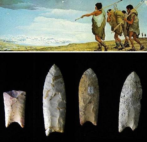 Nền văn minh Clovis, Bắc Mỹ