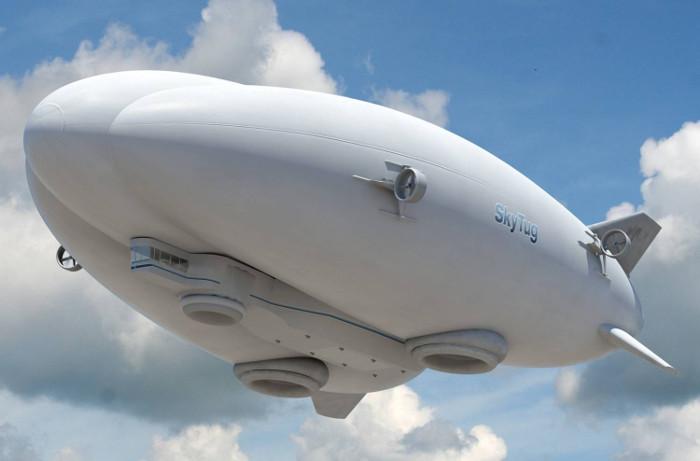 Mô hình khí cầu mới của Lockheed Martin.