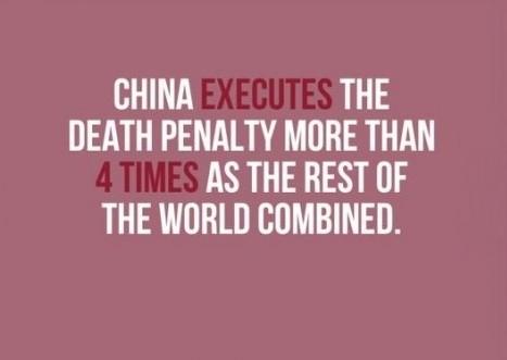 Trung Quốc thực thi án tử hình nhiều hơn 4 lần so với phần còn lại của thế giới cộng lại.