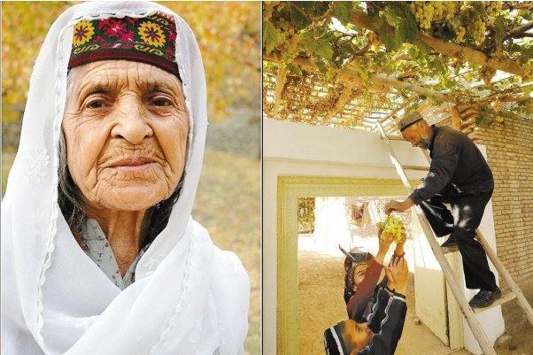 Không chỉ sống thọ, cá biệt có người ở bộ lạc Hunzas sống đến 145 tuổi.