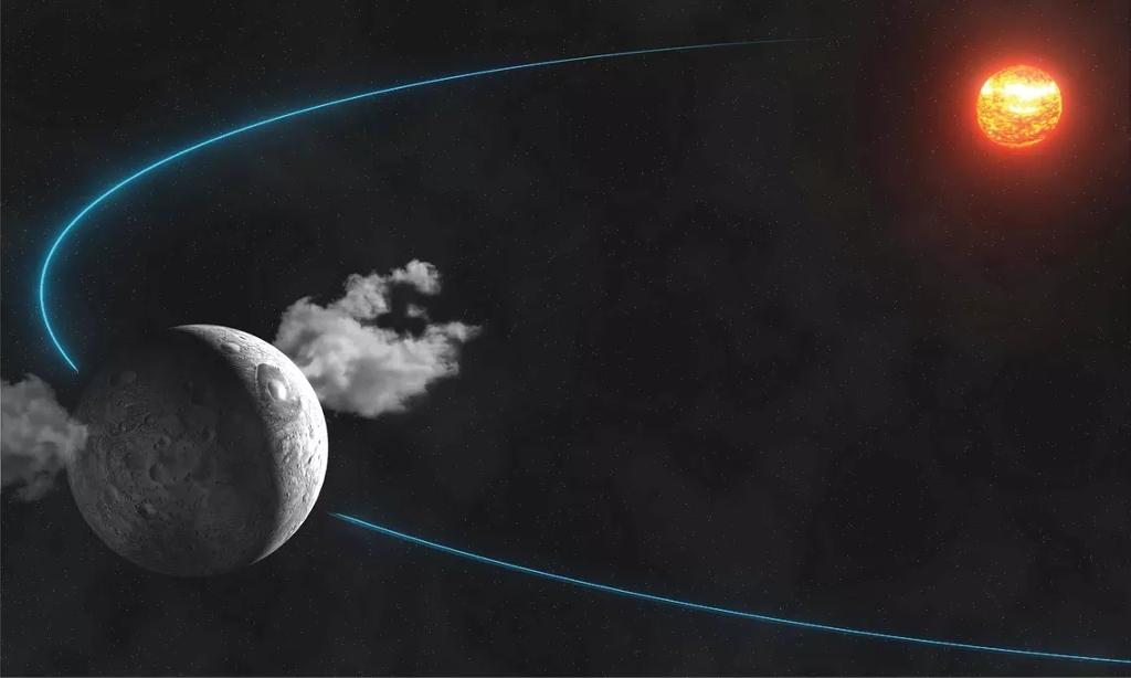 Vô tình nhìn thấy hiện tượng bốc hơi khí kỳ lạ trên bề mặt hành tinh lùn Ceres.