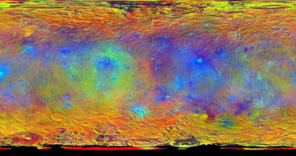 Đây là dự án bản đồ đo độ cao bề mặt địa chất trên hành tinh lùn Ceres.