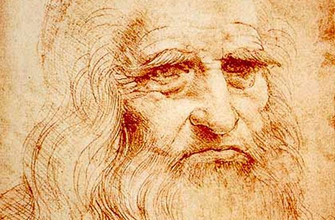 Chân dung Leonardo da Vinci.