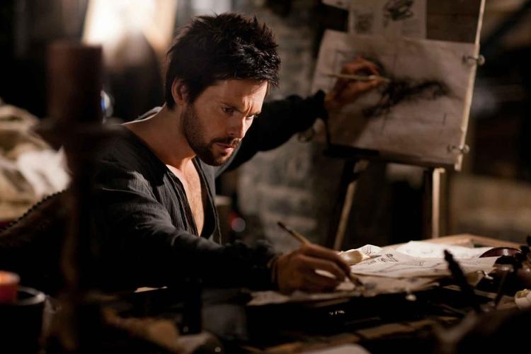 Leo Da Vinci có thể viết bằng một tay và vẽ với tay còn lại cùng một lúc.