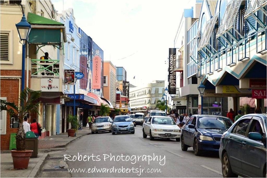 Thành phố Bridgetown hiện nay của quốc đảo Barbados.