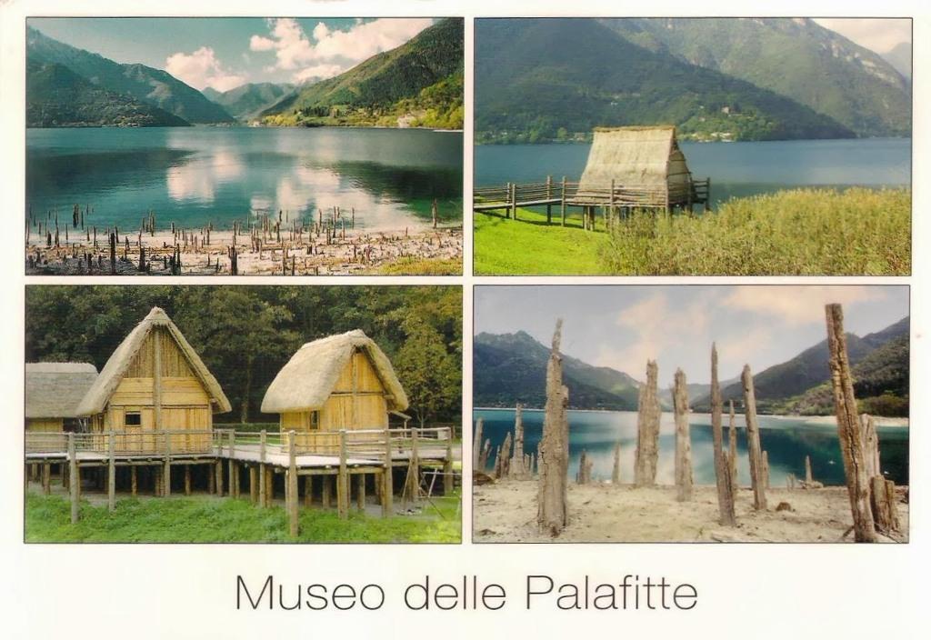 Nhà ở Pile thời tiền sử xung quanh dãy núi Alpes