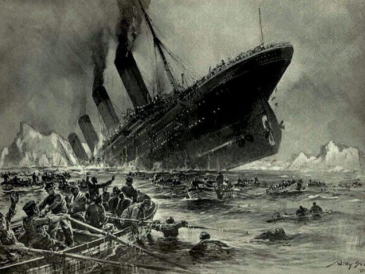 Vụ đâm tàu Titanic là thảm họa nghiêm trọng nhất lịch sử hàng hải.