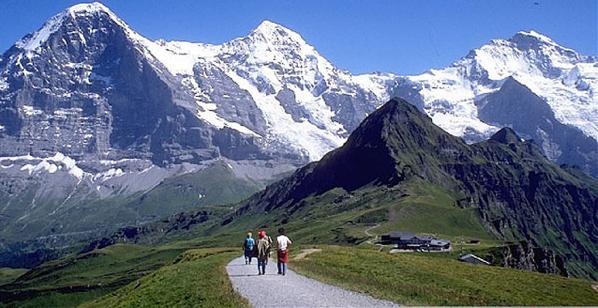 Dãy Alps - Một trong những dãy núi dài nhất Châu Âu.