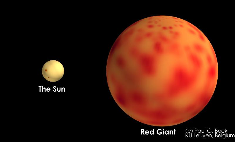 Mặt Trời sẽ phình to thành một sao đỏ khổng lồ, nuốt trọn các hành tinh gần nó, bao gồm Trái Đất.