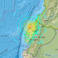 Động đất mạnh rung chuyển Ecuador, 41 người chết