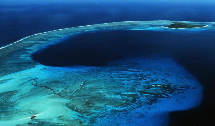 Đảo san hô vòng Bikin