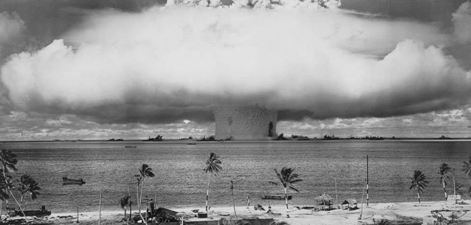 Mỹ đã thả xuống quần đảo Marshall 67 quả bom.