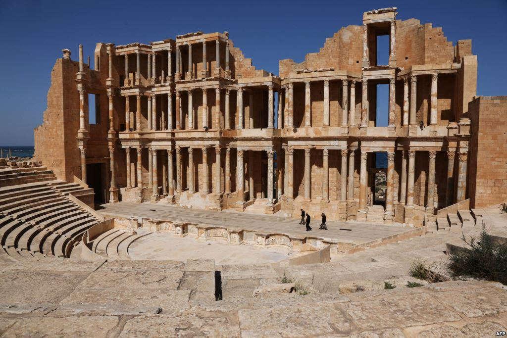 Trung tâm buôn bán Sabratha do người Phoenician thành lập vào khoảng thế kỷ 6-7 trước Công Nguyên ở Libya