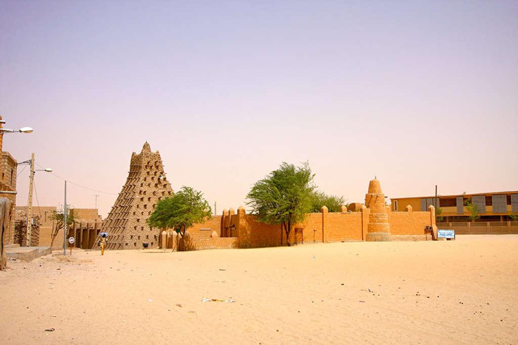 Thị trấn Timbuktu miền Trung Mali được người Tuareg xây dựng vào thế kỷ thứ 12 làm trung tâm buôn bán.