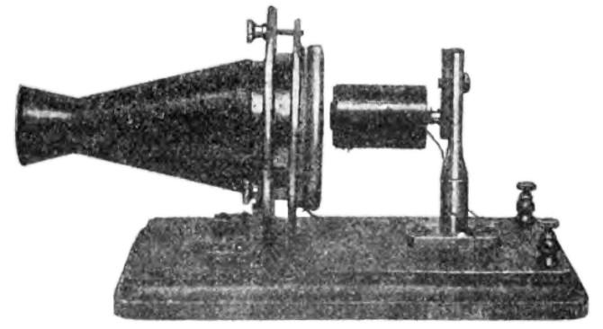 Microphone ra đời ngay sau khi điện thoại được phát minh.
