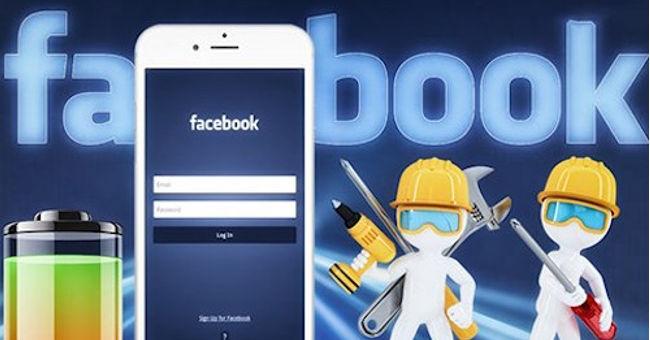 Người dùng có thể giải quyết bài toán hao pin trên smartphone khi sử dụng Facebook.