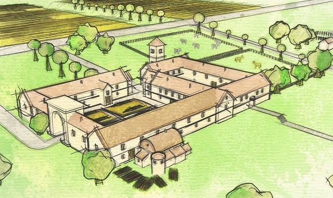 Tất cả chứng cứ chỉ ra một gia đình giàu có và giữ địa vị cao, có thể là hoàng đế La Mã, từng sống trong biệt thự này.