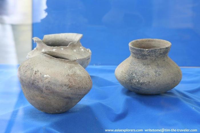 Các hiện vật, cổ vật khai quật được từ khu di chỉ