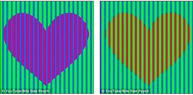 Qua những vân sọc, trái tim có màu sắc khác nhau nhưng thựt chất, chúng là một.