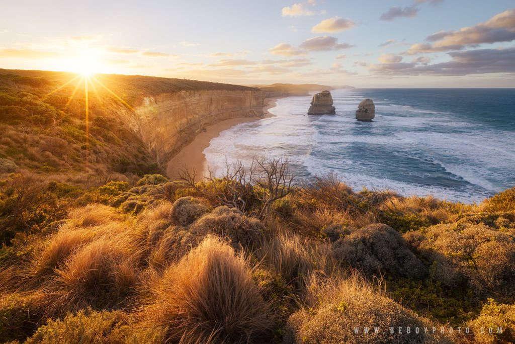 Được ngắm bình minh lên trên bờ biển của Australia quả là một điều tuyệt vời.