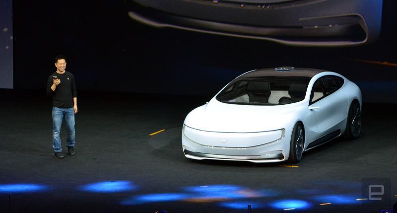 LeEco đã làm cả thế giới phải ngả mũ khi ra mắt một chiếc ô tô điện mới hoàn toàn có thể di chuyển được.