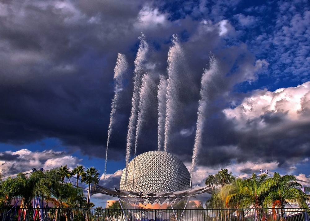 Disney's Fountain of Nations