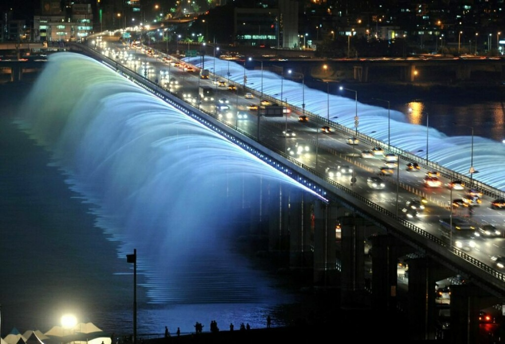 Banpo Bridge Rainbow