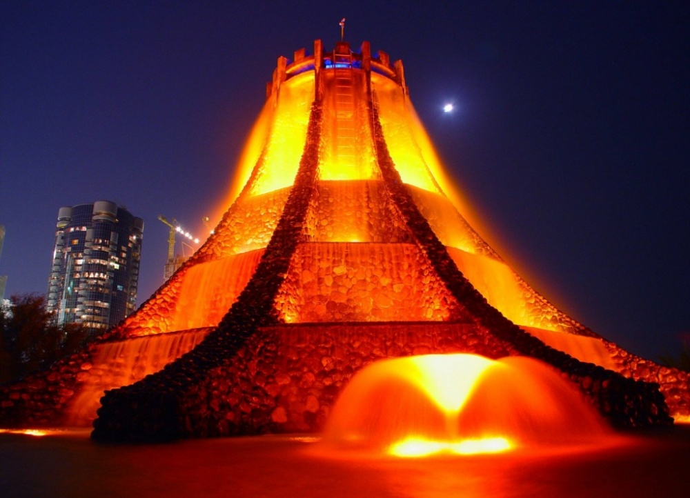 The Volcano Fountain