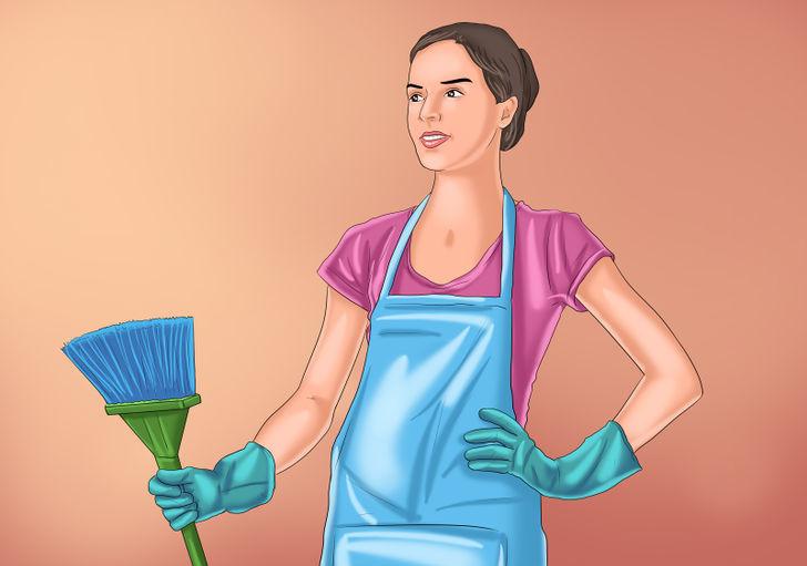 Bạn nên dọn dẹp những nơi tối tăm như gầm giường, gầm tủ... sạch sẽ.