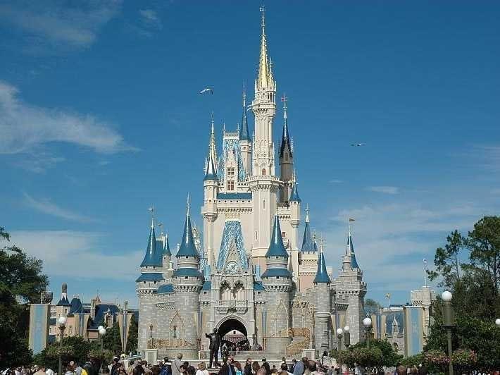 Nước Mỹ cũng không tránh khỏi khi mực nước biển dâng cao, Disney World và Disney Land có thể bị nhấn chìm dưới nước biển.
