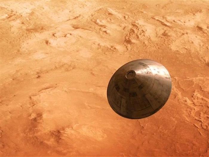 Thế kỷ 24, có thể con người đã ổn định cuộc sống trên Sao Hỏa.