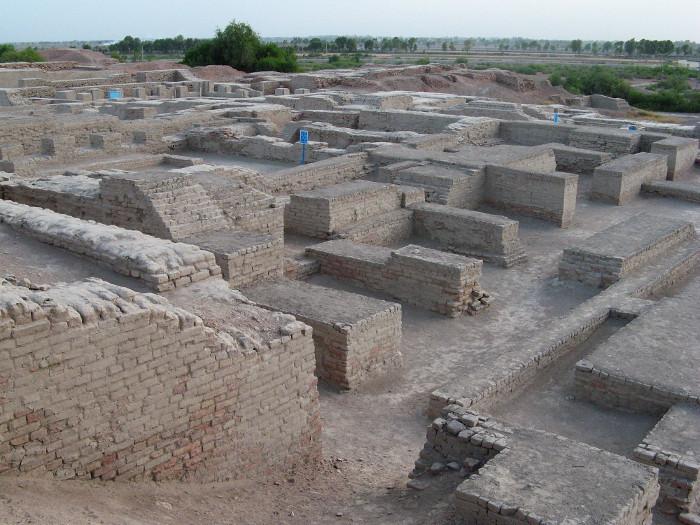 Hệ thống thoát nước Mohenjo-Daro.