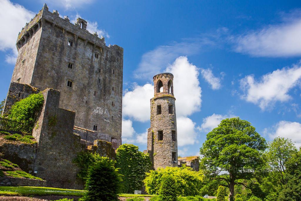 Lâu đài đá Blarney ở Ireland.
