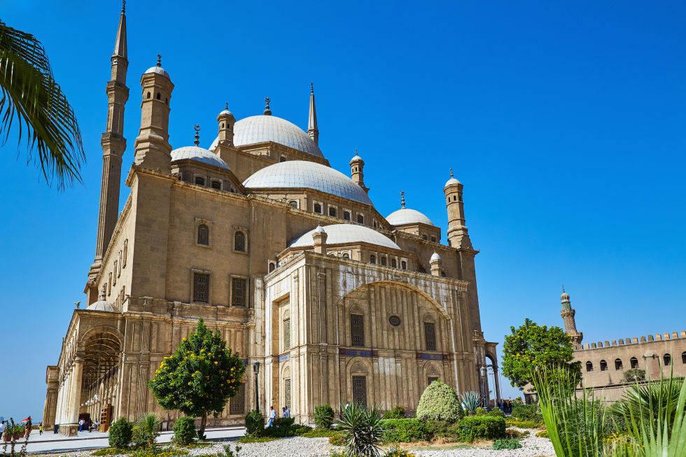 Lâu đài Citadel ở Cairo, Ai Cập được xây dựng cách đây 700 năm.
