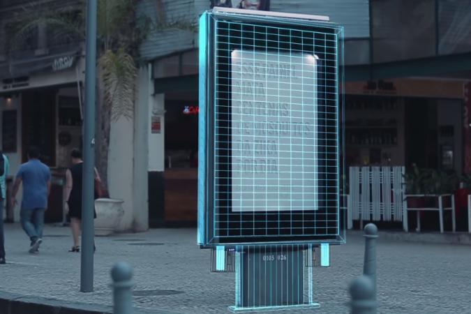 Bảng quảng cáo thu hút muỗi bằng cách tỏa ra mùi giống mồ hôi và hơi thở con người.