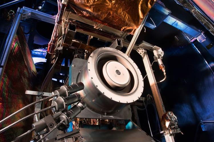 Một thử nghiệm tại Trung tâm nghiên cứu NASA Glenn.
