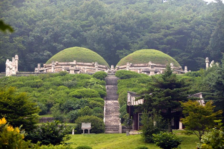 Thành phố cổ Kaesong.