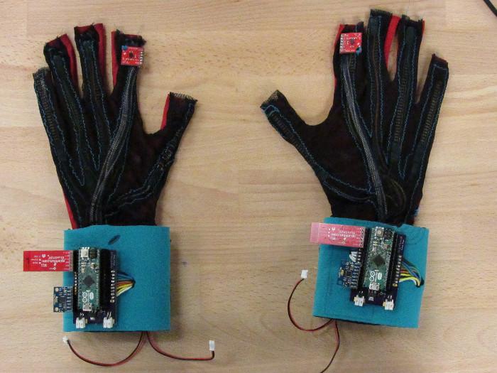 Đôi găng tay có thiết kế tối ưu và dễ sử dụng.