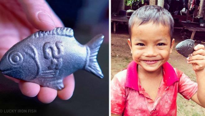 6 năm trước, tiến sĩ người Canada Christopher Charles đến Campuchia và ngạc nhiên nhận thấy hầu như trẻ em đều mắc chứng thiếu sắt do chế độ ăn không đủ chất.
